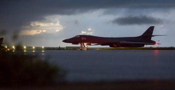 अमेरिकी बमवर्षक र युद्ध विमानहरु उत्तर कोरियाको नजीक ।