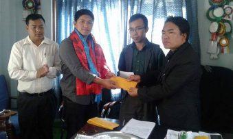 नेपाल मगर संघ इजरायलले  विभिन्न शिर्षकमा सहयोग रकम हस्तान्तरण ।