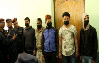 गौचन हत्यामा संलग्न ५ जना अभियुक्तहरुलाई सार्वजनिक ।
