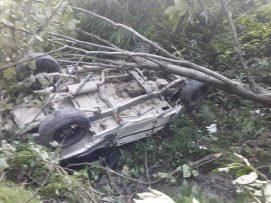 गाउँ पालिका अध्यक्ष सहित ५ जना जिप दुर्घटनामा मृत्यु |