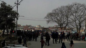 बिप्लव समुहको बन्दको असर काठमाडौँमा परेन ,तीनकुनेमा बम राखिएको हल्ला |