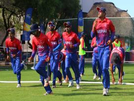 नेपाली राष्ट्रिय क्रिकेट टोलीका सदस्यहरुलाई सरकारले ३ लाख जनही दिने घोषणा |
