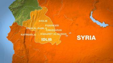 उत्तरी सिरियामा विद्रोहीको नियन्त्रित इलाकामा बिषालु ग्यास हमलाको आशंका |
