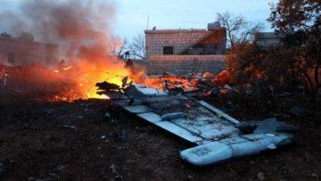 सिरियान बिद्रोही समूहले रुसी लडाकु विमान खसाल्यो।
