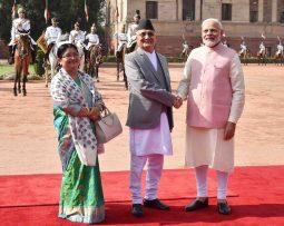 भारतीय प्रधान मन्त्रि मोदी र नेपाली प्रधान मन्त्रीले संयुक्ता रुपमा अरुण तेस्रो शिलान्यास गर्ने |