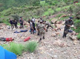 रुकुममा जीप दुर्घटना ४ जनाको मृत्यु |