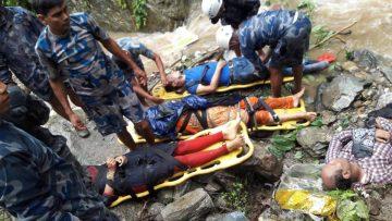 काठमाडौँबाट पोखरा जान्दै गरेको बस त्रिशुलीमा खस्दा ७ जनाको मृत्यु १७ जना घाइते |