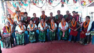 तमु प्ये ल्हु संघ चितवन महिला समिति गठन |
