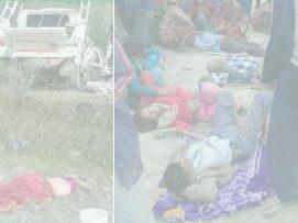 बझाङ्गमा जीप दुर्घटना २ को मृत्यु ,१२ घाइते |