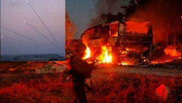 इजरायल र पेलेस्ताइन बीच फेरी तनाव ,गाजाबाट अहिलेसम्म २०० रकेट प्रहर, गाजामा  इजरायली सेनाको भिषण आक्रमण |