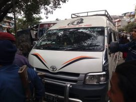 नारायणगढ पोखरा बसपार्कमा हाईसको ठक्करबाट २२ महिनाकी बालिकाको मृत्यु |