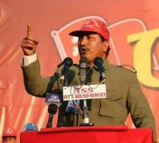 नेकपा( बिप्लव )ले आफ्नो नेता कार्यकर्ताहरुको गिरफ्तारी बिरुद्द शनिबार नेपाल बन्द घोषणा ।