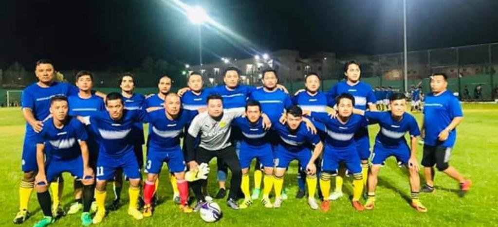 संघीय लिम्बुवान मञ्चले आयोजना गरेको युएई व्यापी फुटबल प्रतियोगितामा लमजुङ एफसीको शानदार विजय।