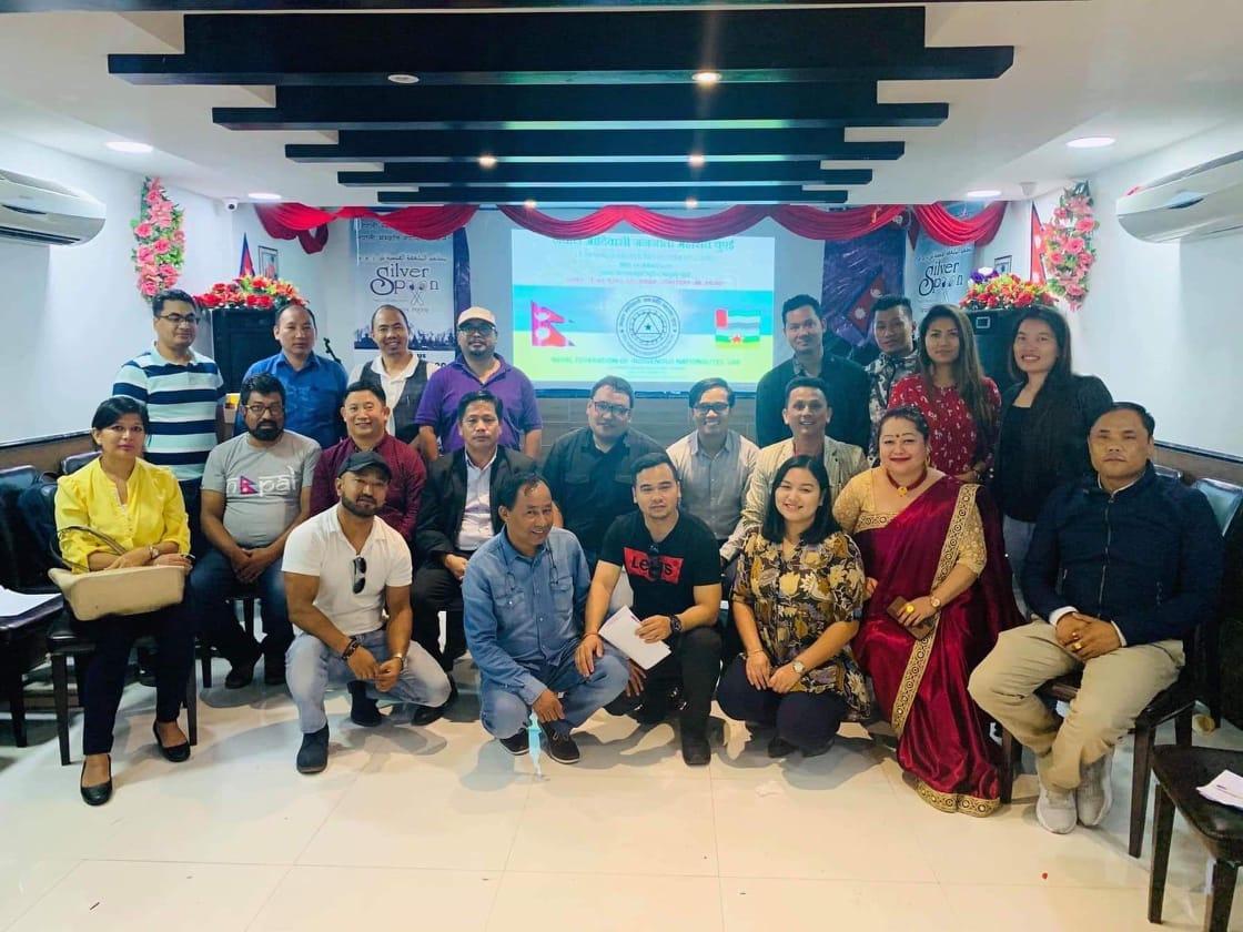 नेपाल आदिवासी जनजाती महासंघ युएईद्वारा व्यक्तित्व बिकास तालिम सम्पन्न ।