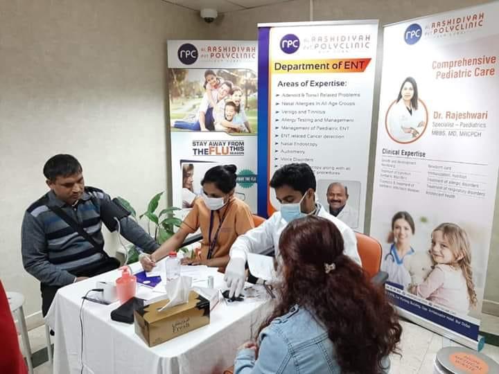 नेपाली समाज युएईद्वारा नि:शुल्क स्वास्थ्य परिक्षण सम्पन्न ।