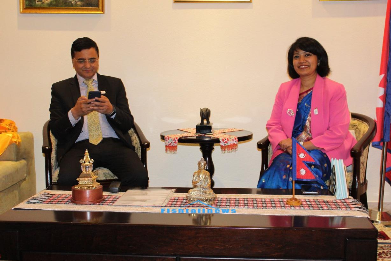 इजरायलमा हुने नेपाल भ्रमण बर्ष २०२०कार्यक्रमलाई  संस्कृति, पर्यटन तथा नागरिक उड्डयन मन्त्री योगेश भट्टराईले सम्बोधन गर्नु हुने  