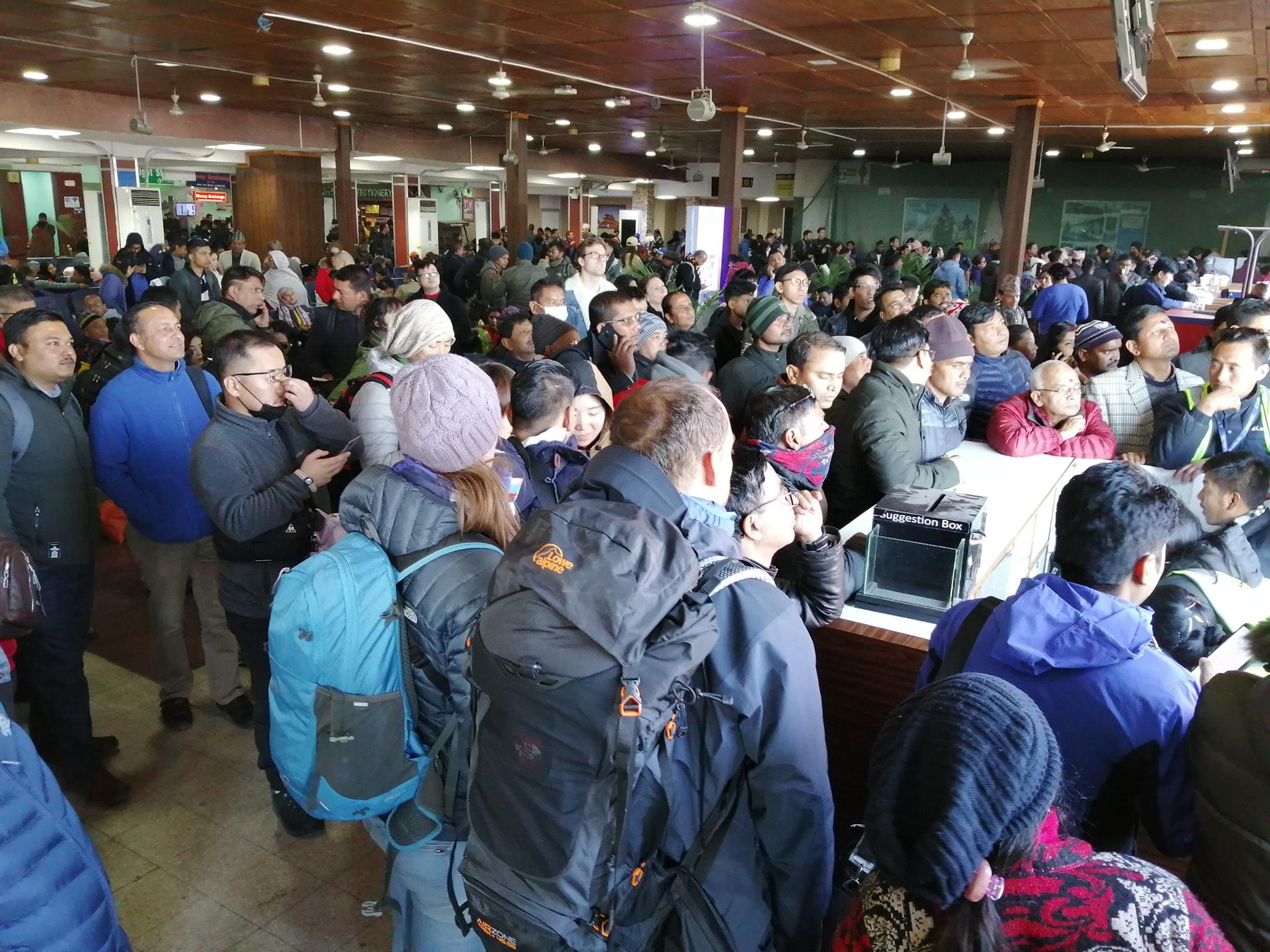 नेपाल अध्यागमन विभागले ५३ जना बिदेशी पर्यटकहरुलाई फिर्ता पठायो ।