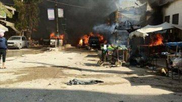 सिरियामा बम विस्फोट हुँदा बालबालिका सहित ४० जनाको मृत्यु ।