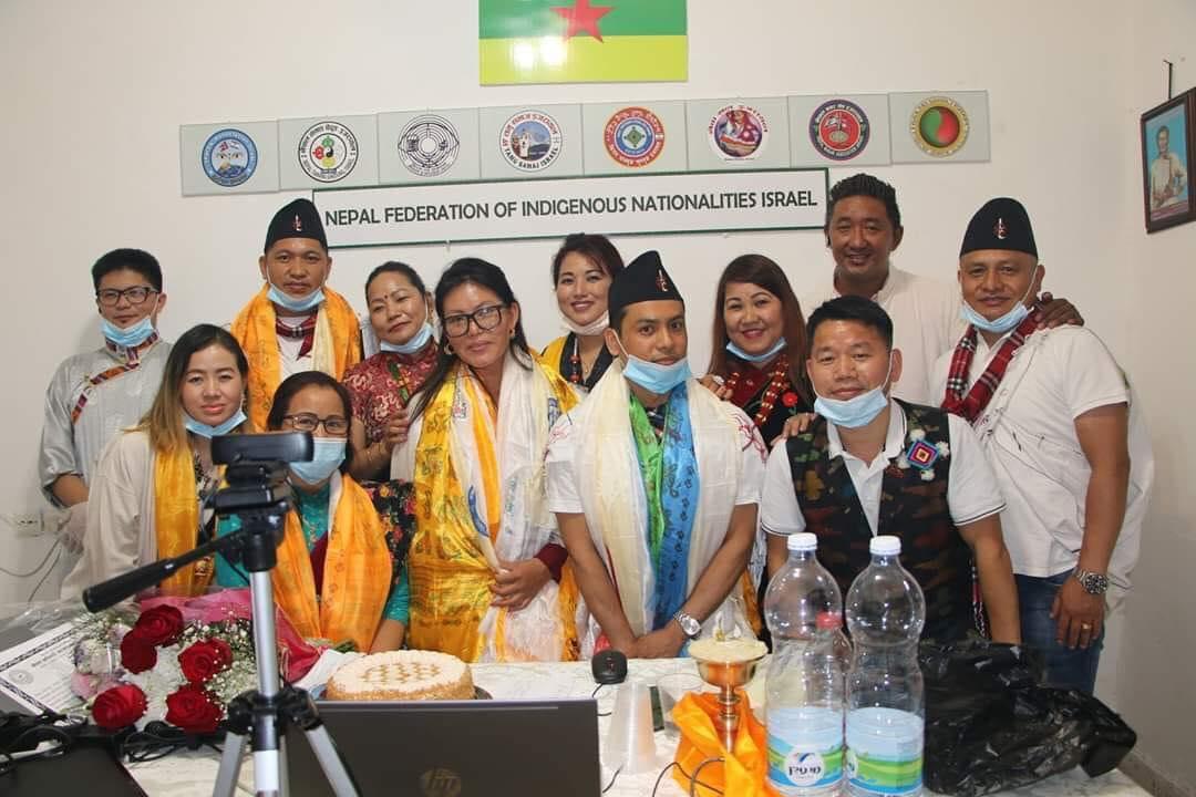 नेपाल आदिबासी जनजाति महासंघ इजरायलको आठौ बार्षिक उत्सव तथा साधारण सभा कार्यक्रम सम्पन्न ,अध्यक्षमा पेम्बा डोल्मो ह्योल्मो निर्बिरोध  निर्बाचित।