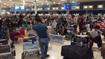 युएईको दुबईबाट १४८ जना यात्रु लिएर नेपाल एयरलाइन्सको पहिलो उडान काठमाण्डौ उड्यो ।