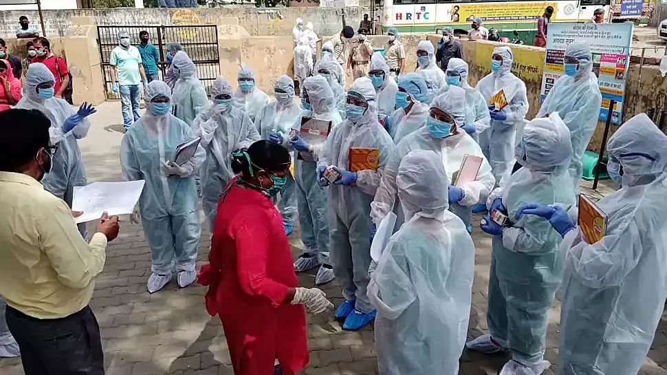 कोरोना प्रभावित मुलुकमा भारतले उछिन्यो ब्राजिललाई