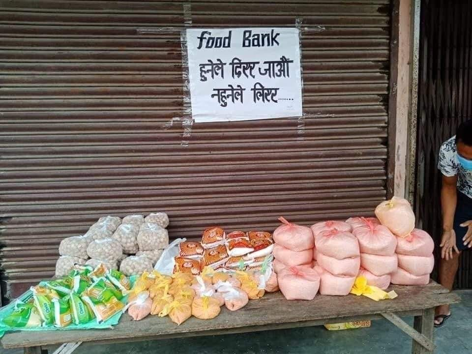 फुड बैंकः महामारीले सिर्जना गरेको सुन्दर परोपकारी काम